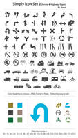 Simply Icon Set 2 by femographi