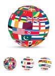 3D Flag World
