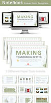 Notebook Power Point Template