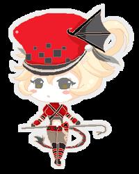 Red Mage by nanasmoo