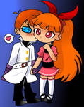 FusionFall Dexter and Blossom