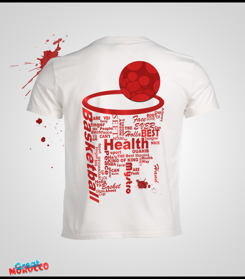 Basketball t shirt by uhb gfx on deviantart for Design your own basketball t shirt