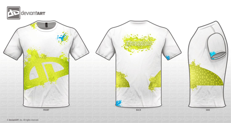 DA-white-T-shirt by UHB-gfx