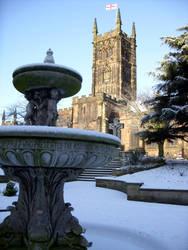 Winter Church by Darkwinterthorn