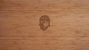 Futaba Wood Wallpaper