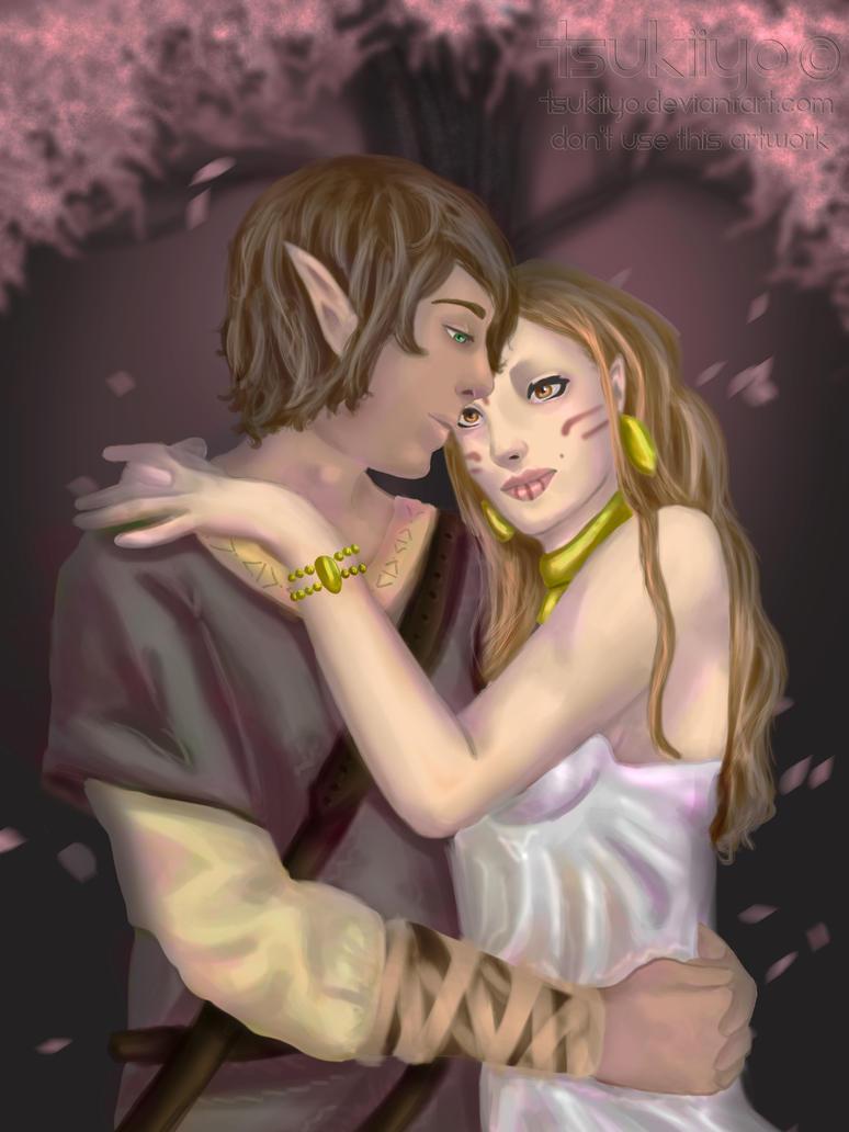 Jurre and Alia by Tsukiiyo