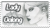 Stamp - Lady-Oolong by Tsukiiyo