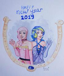 OCs - HAPPY NEW YEAR 2019