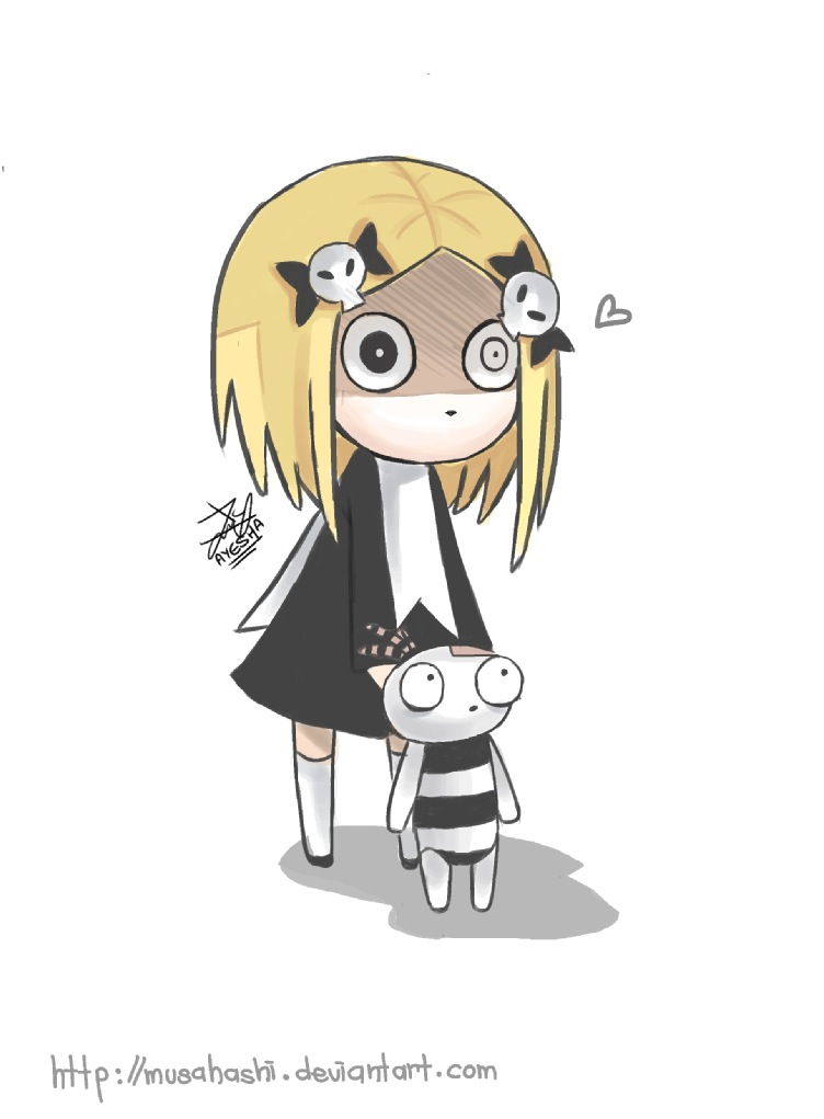 Lenore the cute little dead girl by Musahashi