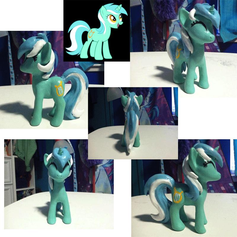 Lyra Sculpture by TheBlueChimera