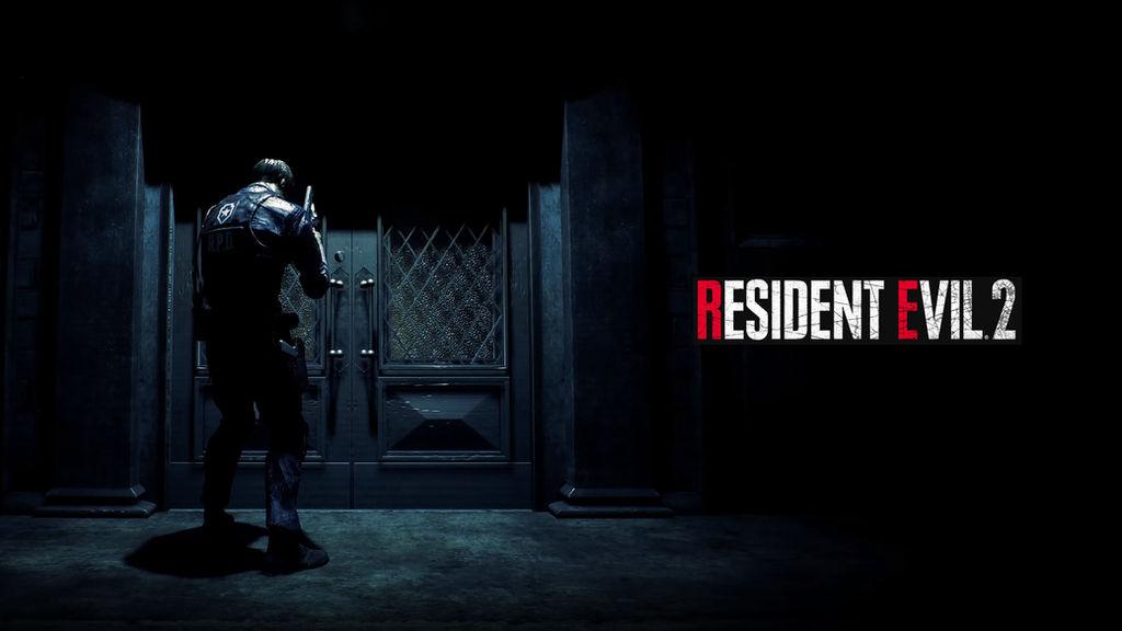 Resident Evil 2 REmake Wallpaper (Leon) #RE2 by Ember