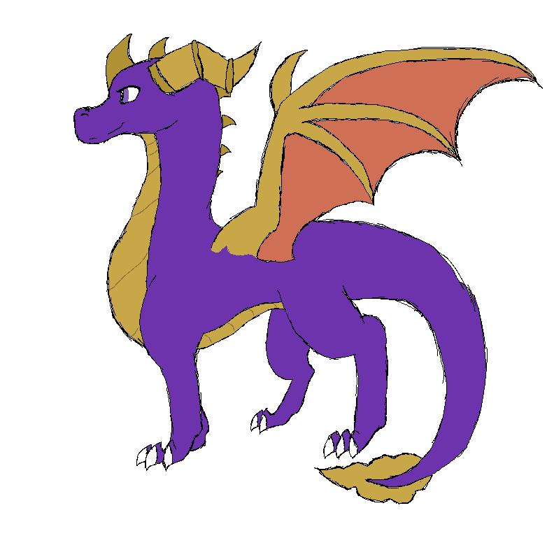 Spyro Sketch by PintoFire