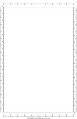 Blank Comic Board -11x17-