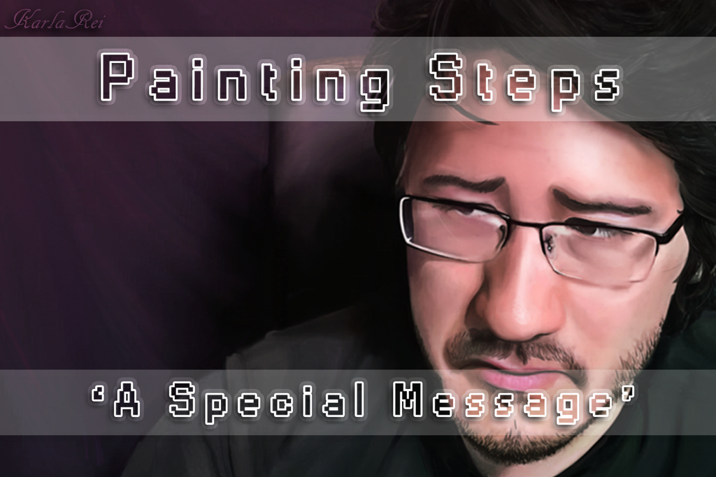 Painting video - Markiplier: An Important Message by karlarei2003
