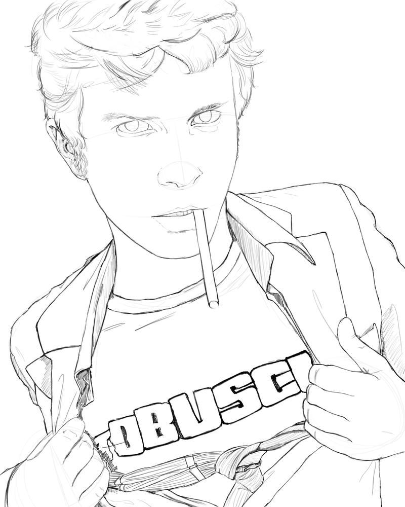 BUSCUS Sketch by karlarei2003