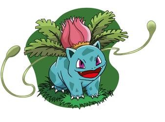 Pokedex: #002 Ivysaur