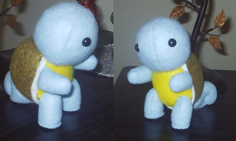 Squirtle Plushie Commission by GlacideaDay
