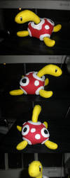 Shuckle Plushie by Glacideas