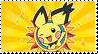 Gizamimi Pichu Stamp by Glacideas