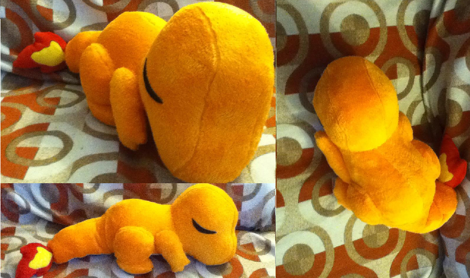 Sleepy Charmander Plush by GlacideaDay
