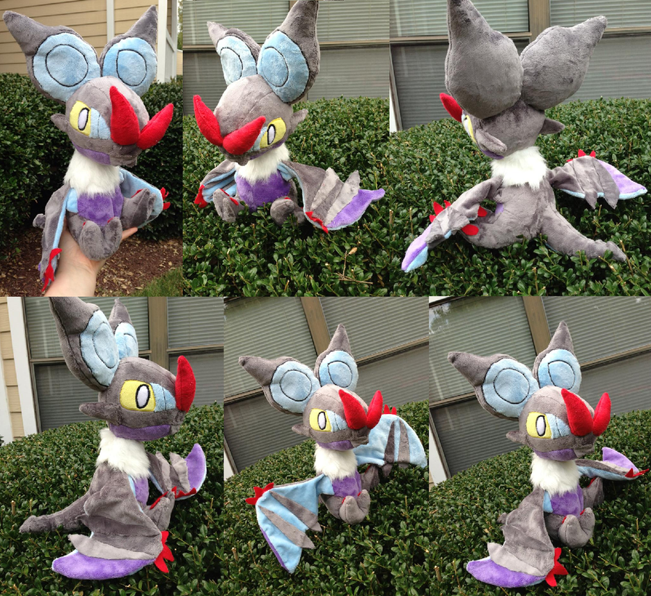 Noivern Plush by GlacideaDay
