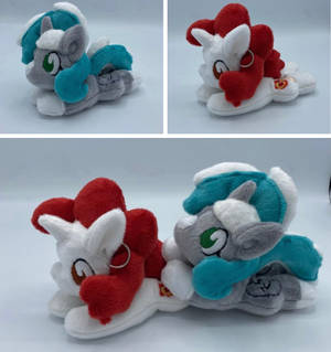 Minty Wubs and Wife Plush