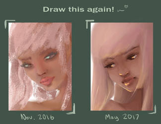 Draw this again: 6 months progress by almost-electric