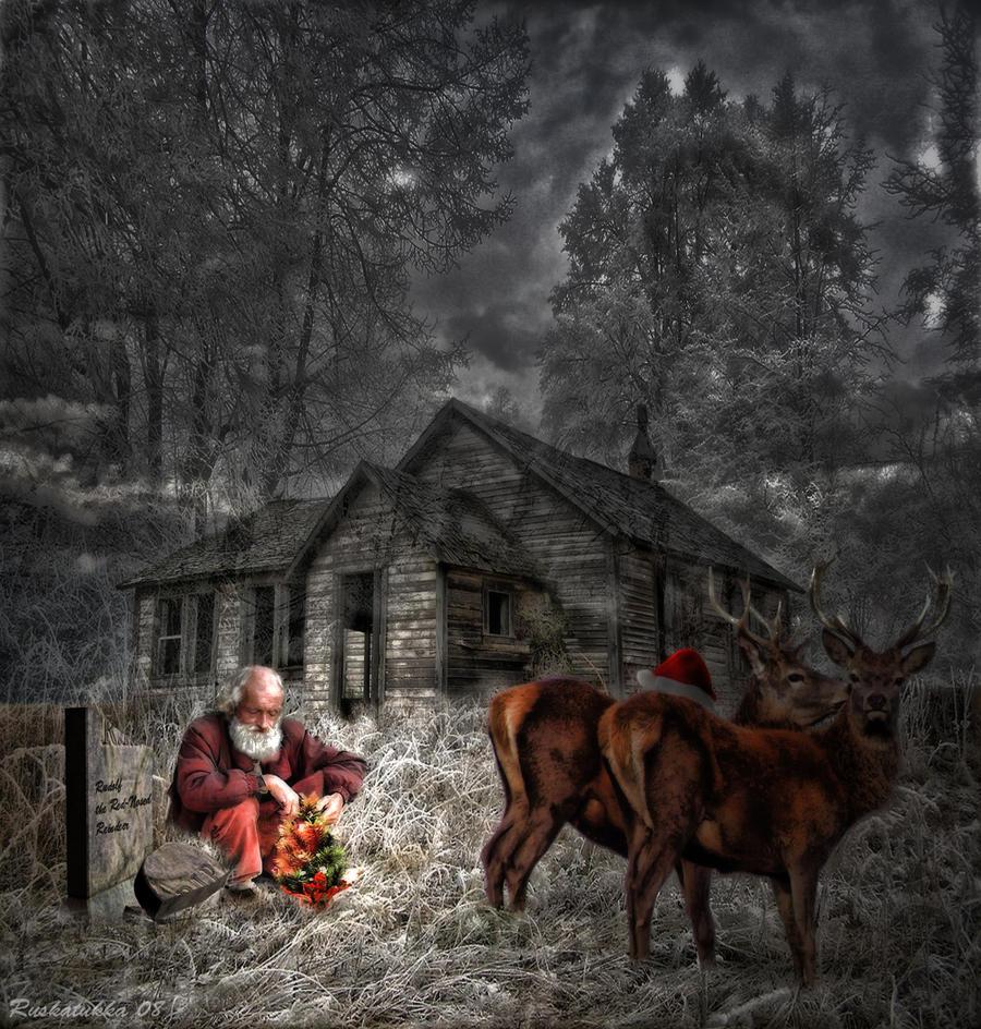 Dark Christmas by Ruskatukka