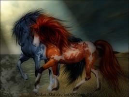 Horse I by Ruskatukka