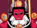 Lord Tirek Digital mlp Villain by SleepyShadowArtist