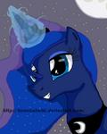 Princess Luna by SleepyShadowArtist