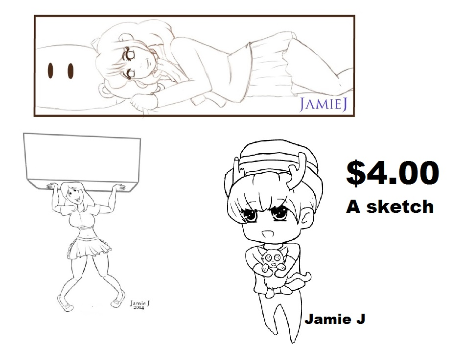 sketch commission by jjartstudio