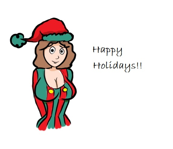 Happy Holiday guys!! by jjartstudio