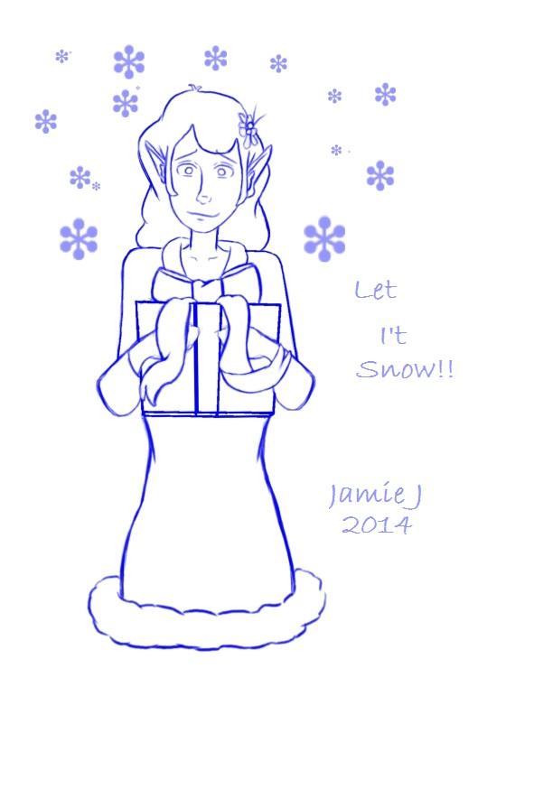 Let I't Snow by jjartstudio