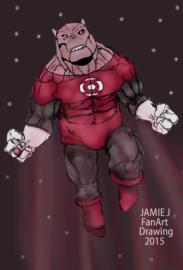 Lantern Go's BAD!! by jjartstudio