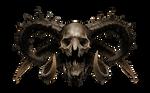 Skull Diabolical PNG