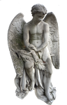 Angel statue stock PNG
