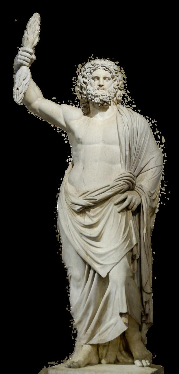 Statue Zeus stock PNG ...