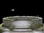 Circular balcony stock PNG