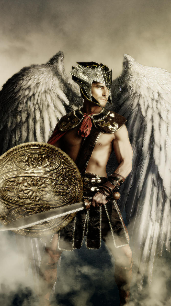 Gabriel, the Archangel by Shadow-of-Nemo