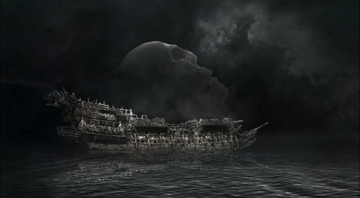 Ghost Ship by Shadow-of-Nemo