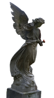 Angel Statue stock PNG 2 by Shadow-of-Nemo