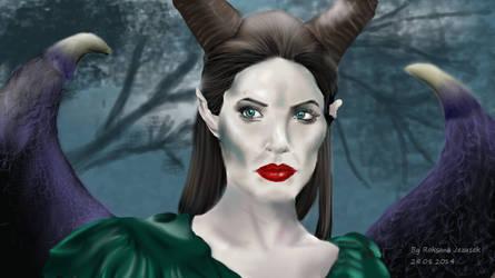 Maleficent by BloodyMarryPL