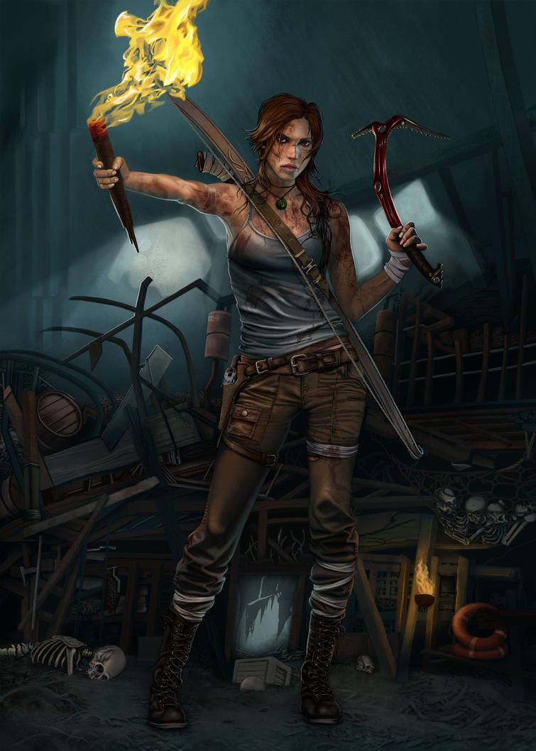 Lara young reborn 14 by Terribilus
