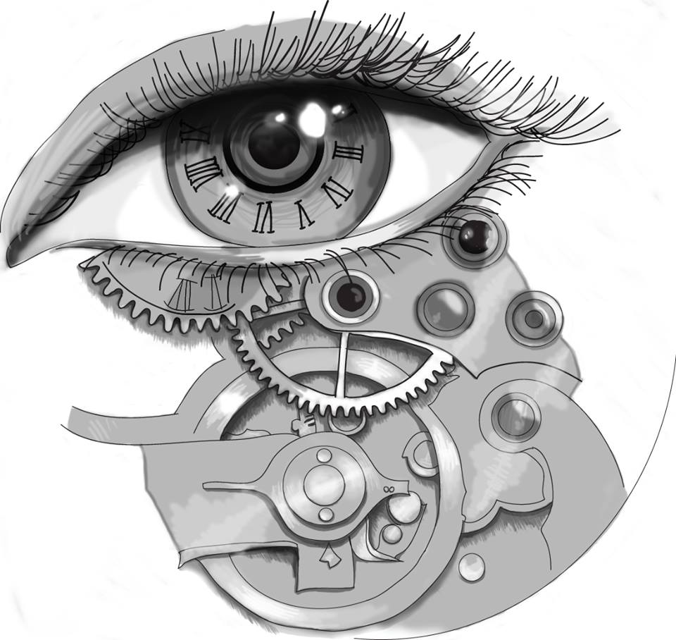 Steampunk eye tattoo design by officialbellajynx on deviantart for Eye tattoo art