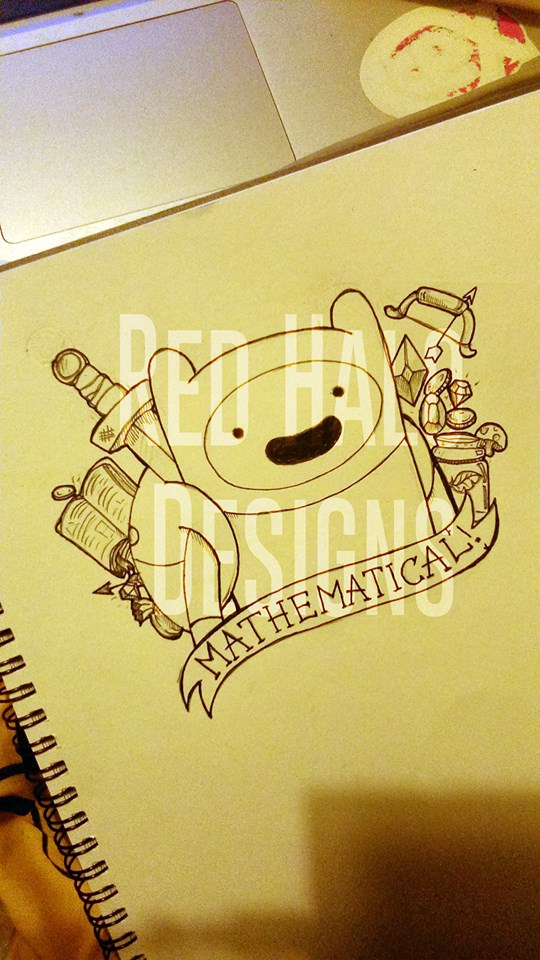 adventure time finn tattoo design by officialbellajynx on deviantart. Black Bedroom Furniture Sets. Home Design Ideas