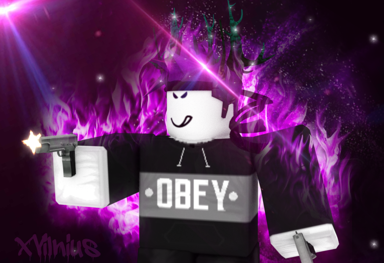 Awesome Purple Roblox Gfx Slubne Suknie Info
