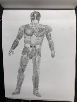20191005201956 - Kamen Rider Black RX Sketching