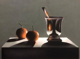 Les oranges by Lesaupastel