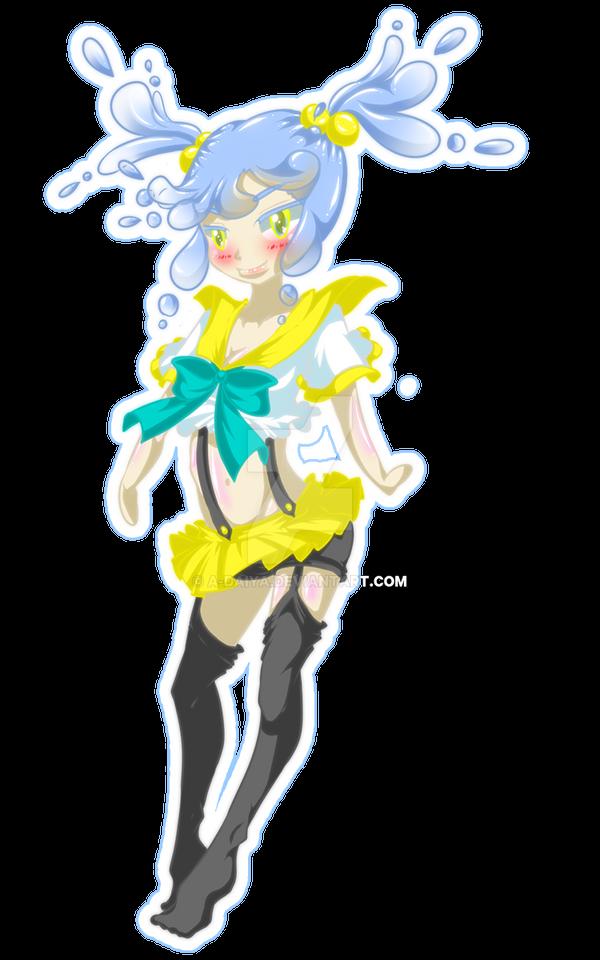 .:OC:. Sapphire by A-Daiya